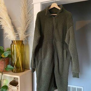 Windsor Oversized Teddy Trench Coat